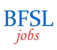 BOB Financial Solutions Limited (BFSL) Jobs