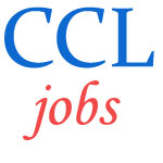 Employment Jobs in Central Coalfields Limited