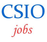 Scientist Jobs in CSIO