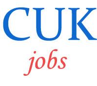 Non-Teaching Jobs in Central University of Karnataka