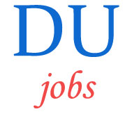 Associate Professor Jobs  in Delhi University