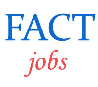 Manager and Technician Jobs in FACT