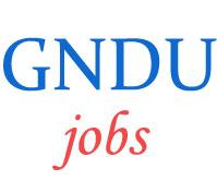 Teaching Non-Teaching Jobs in GNDU