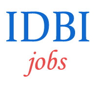 Specialist Officers Jobs in IDBI Bank