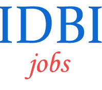 Executives Jobs in IDBI Bank
