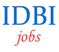 Chartered Accountants Jobs in IDBI Bank