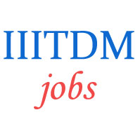 Teaching Jobs in IIITDM