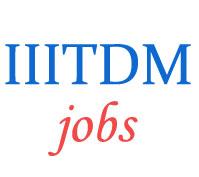 Non-Teaching Jobs in IIITDM