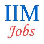 Teaching Jobs in IIM
