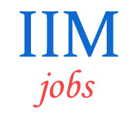 Teaching Jobs in IIM