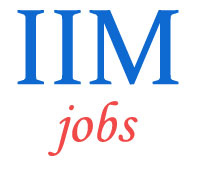 Non-Teaching Jobs in IIM