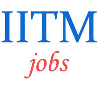 Scientist Jobs in IITM