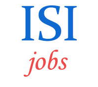 Associate Scientist and Scientific Assistant Jobs in Indian Statistical Institute