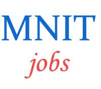 Teaching Jobs in MNIT