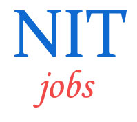 Teaching Jobs in NIT