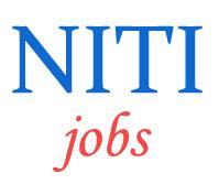 Professionals Jobs in NITI