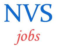 Teachers Principals Jobs in Navodaya Vidyalaya Samiti