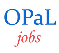 Technical and Support Jobs in OPaL