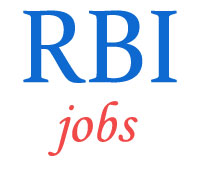 Analysts/Consultants/Specialist Jobs in RBI