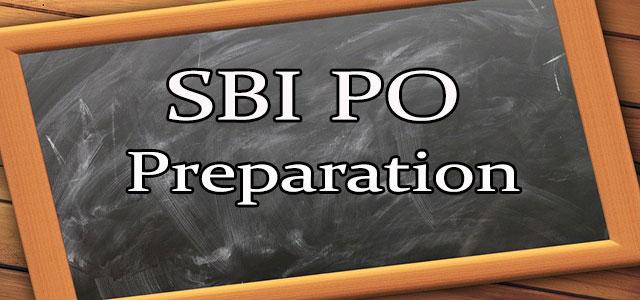 Tips to Prepare for SBI PO
