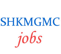 Teaching Jobs in SHKMGMC