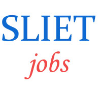 Teaching Jobs in SLIET