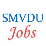 Teaching Jobs in SMVDU