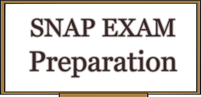 SNAP Exam – What it is?