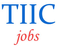 Officer and Manager Jobs in TIIC