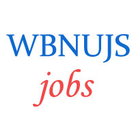 Teaching and Officer Jobs in WBNUJS