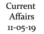 Current Affairs 11th May 2019