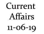 Current Affairs 11th June 2019