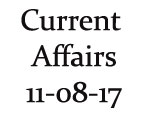 Current Affairs 11th August 2017