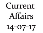 Current Affairs 14th July 2017