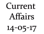 Current Affairs 14th May 2017