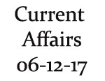 Current Affairs 6th December 2017