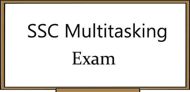 SSC Multitasking (non-technical) Preparation